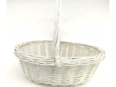 cesta blanco